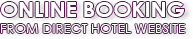 Online Booking from direct hotel website